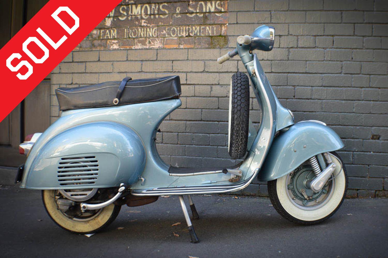 Vintage Scooters Gasoline
