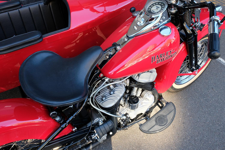 1942 Harley Davidson WLA 42 Sidecar — Gasoline