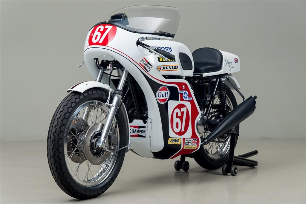 Triumph Trident Slippery Slam Replica