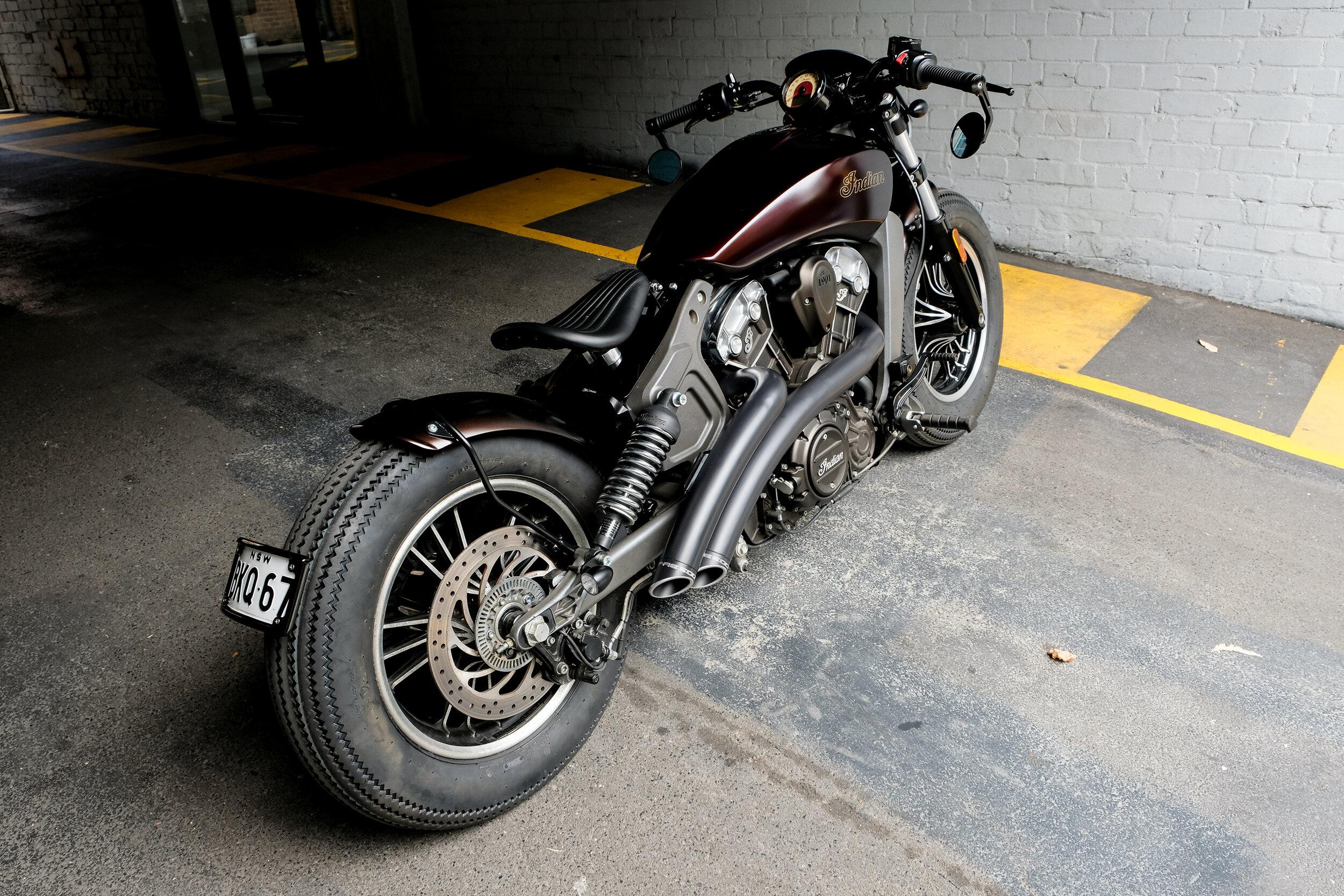 Indian Scout Bobber Custom Gasoline Motor Co