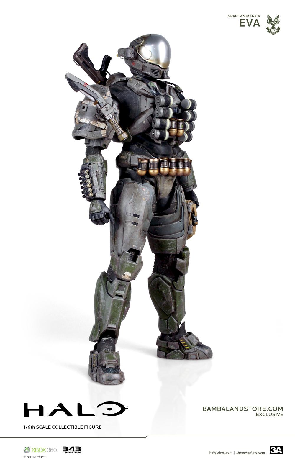 threeA 3A Halo HaloReach Spartan gaming videogame