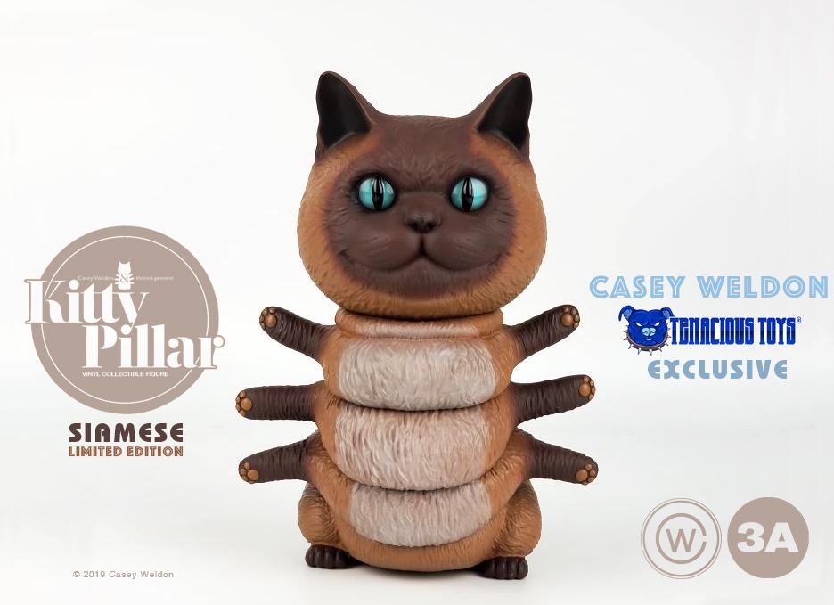 Siamese Kittypillar now available at Tenacious Toys!