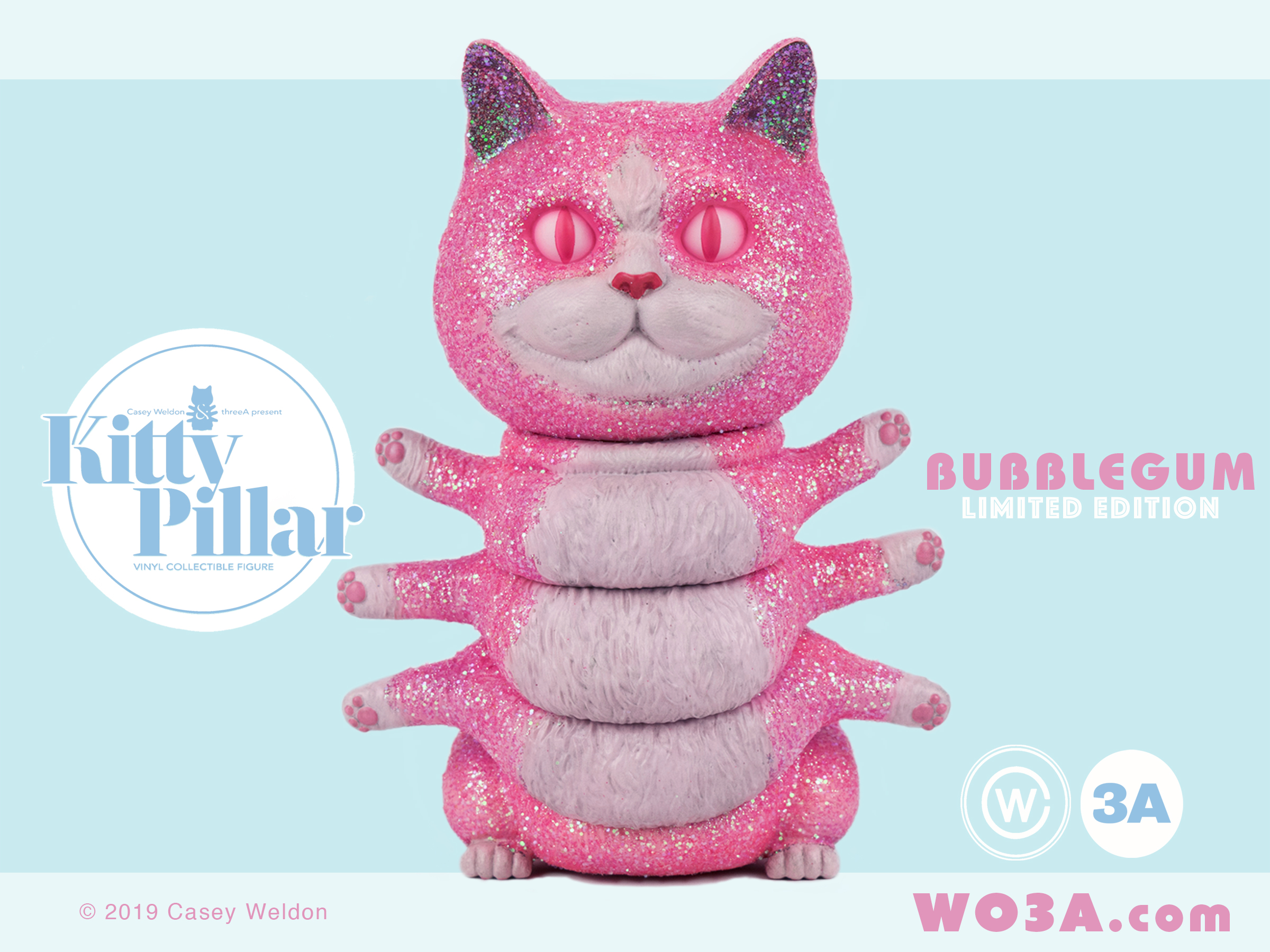 BUBBLEGUM - Pre-made edition available at the 3A Shop!