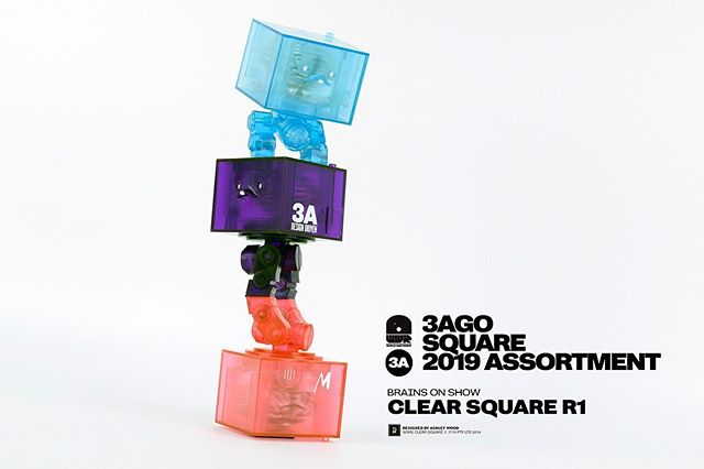 Clear Squares are coming down from the 3A shop on June 11th, Hong Kong timezone. Get 'em while you still can!  Designed by ‪@AshleyWoodArt‬ ‪#AshleyWood‬ ‪#3AGO‬ ‪#WorldWarRobot‬ ‪#Squares‬ ‪#3A‬ ‪#Worldof3A‬ ‪#WO3A‬ ‪#ThreeA‬ ‪#WorldofThreeA‬ ‪#WWR #LastCall ‬