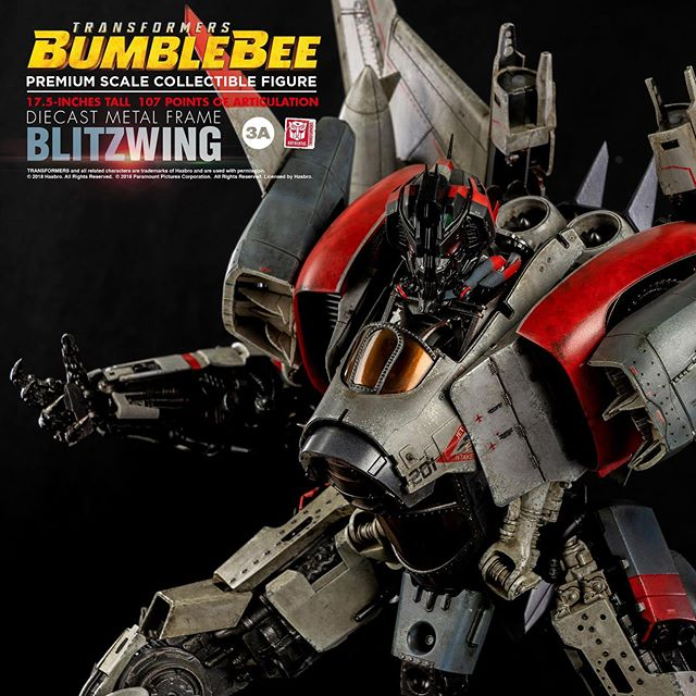 Coming Soon  #3A #ThreeA #Worldof3A #WO3A #PremiumScale #Transformers #Bumblebee #TransformersBumblebee #Collectibles #Toys #Robots #Decepticons #Blitzwing #threezero