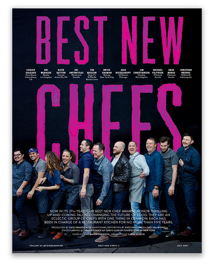Best New Chefs 2015