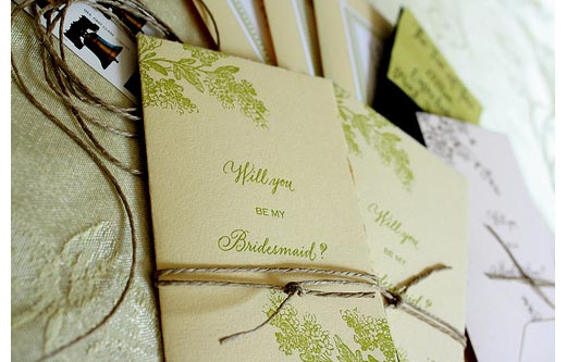 and my favorite card line for   Will you be my Bridesmaid   cards