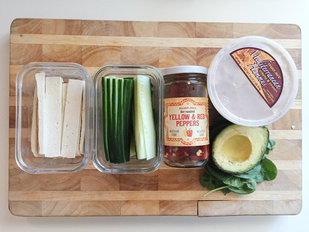 Veggie Wrap ingredients | Arboreal Creative