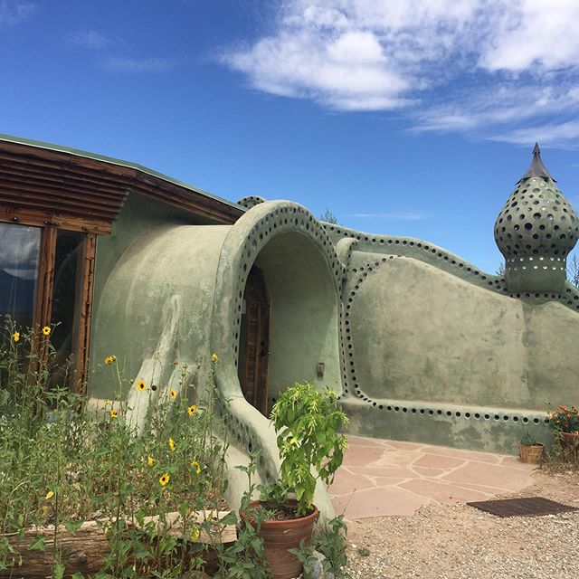 I'm coming back to stay in the Earthship Community 🌎