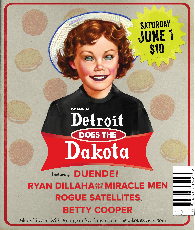 Detroit does Dakota Fest in Toronto