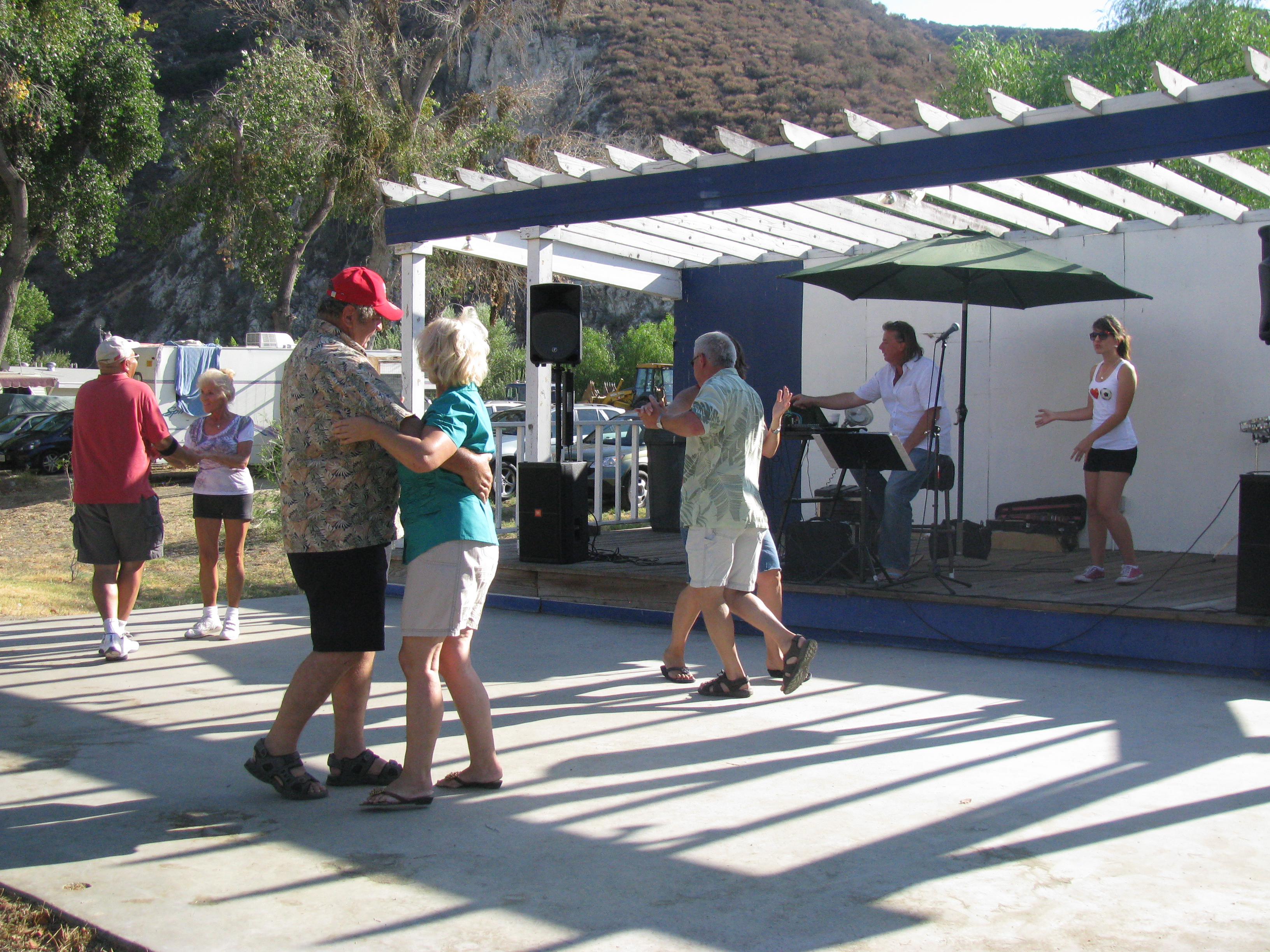 Dancing at one of our Polish Picnics at River's End