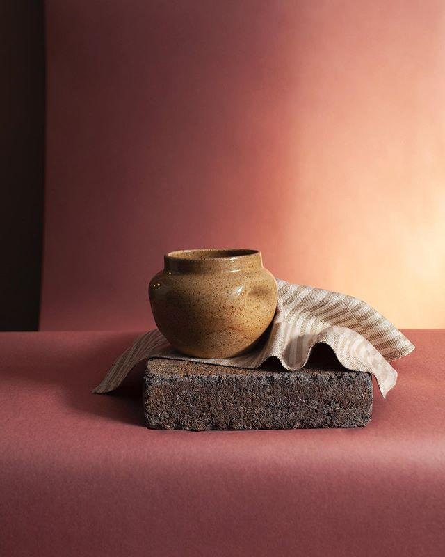 .. beautiful pottery by Tacoma artist @ameliawrededavis find it @mooreaseal .. . . . Styling: me  Photo: @laurabgehring