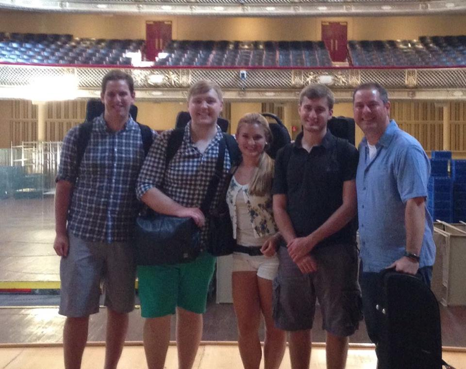 2014-2015 Students: Teddy Malasky, Andrew Nissen, Victoria Garcia, Colin Griebling