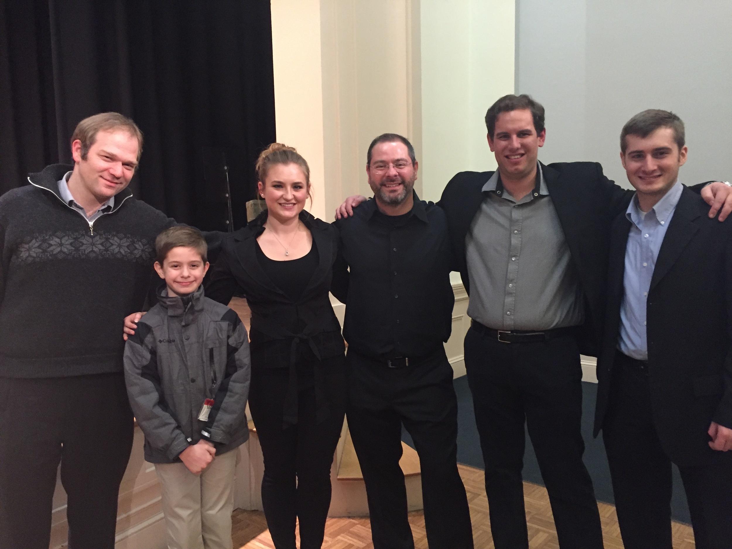 2016 Studio Recital, Williams Hall, New England Conservatory