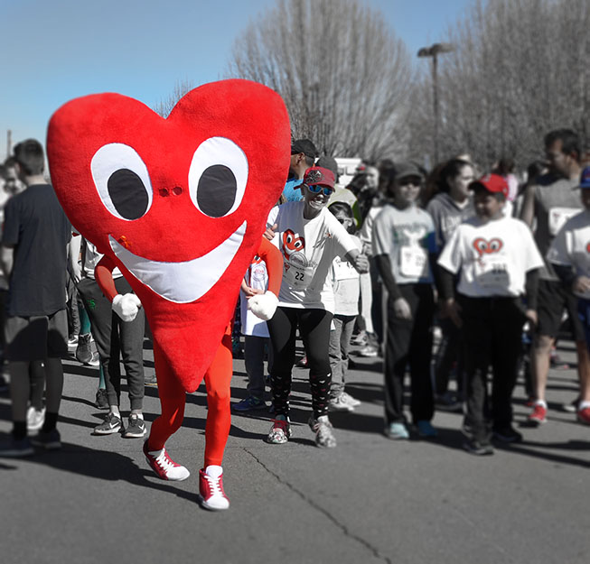 A Fair of the Heart and Goosebump Race - February 23rd 2019. learn more and register today.