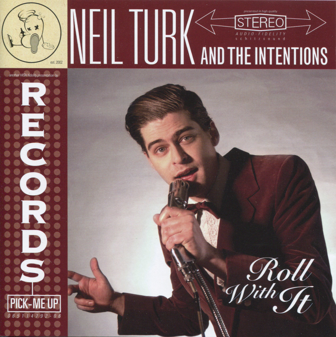 Neil Turk & The Intentions    Roll With It    An eclectic mix of songs spanning the rock genre from an ensemble set of musicians fronted by ex-Atomix crooner, Neil Turk.   Buy on iTunes