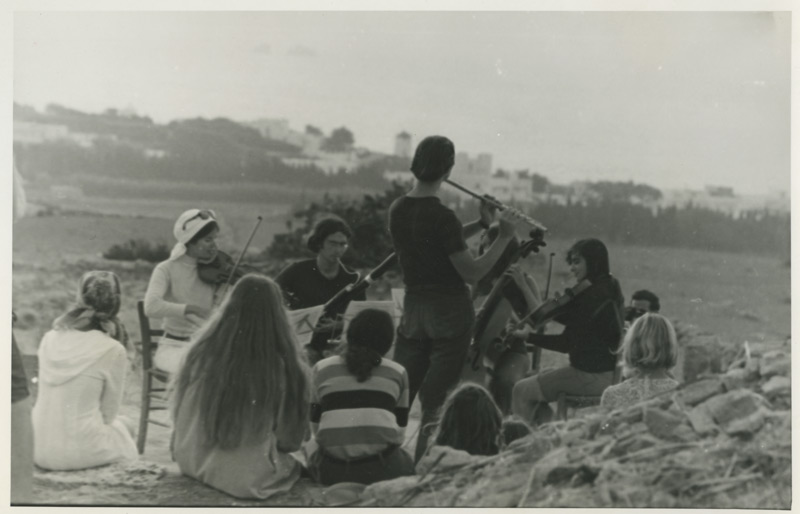 The Paros Chamber Ensemble, 1969.