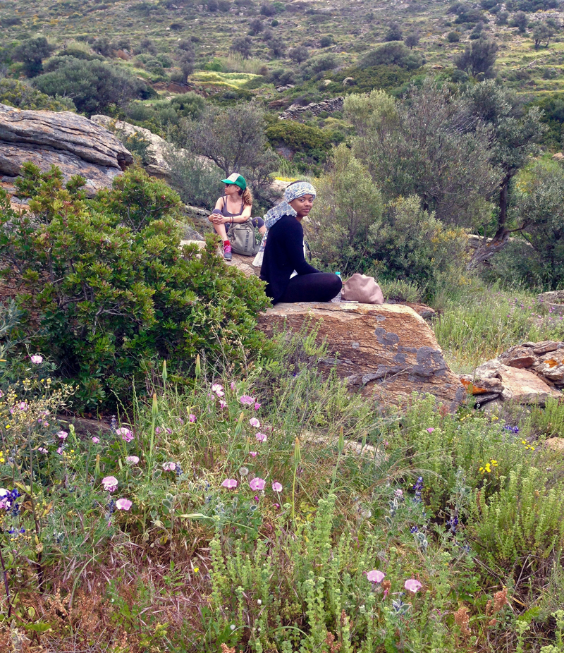 Lydia & Zelda in the Landscape