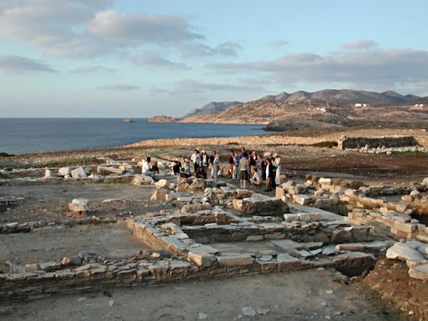 Exploring Ancient Ruins on Island of Despotiko off Antiparos