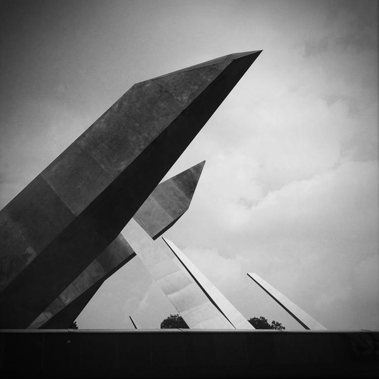 Poznan Army Monument #2, Poland, 2014  ©  Miri Berlin Photography