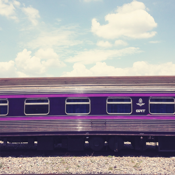 Shot out of a moving train, Bangkok 2014     ©   Miri Berlin Photography
