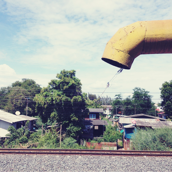 Shot out of a moving train, Thailand 2014  ©   Miri Berlin Photography