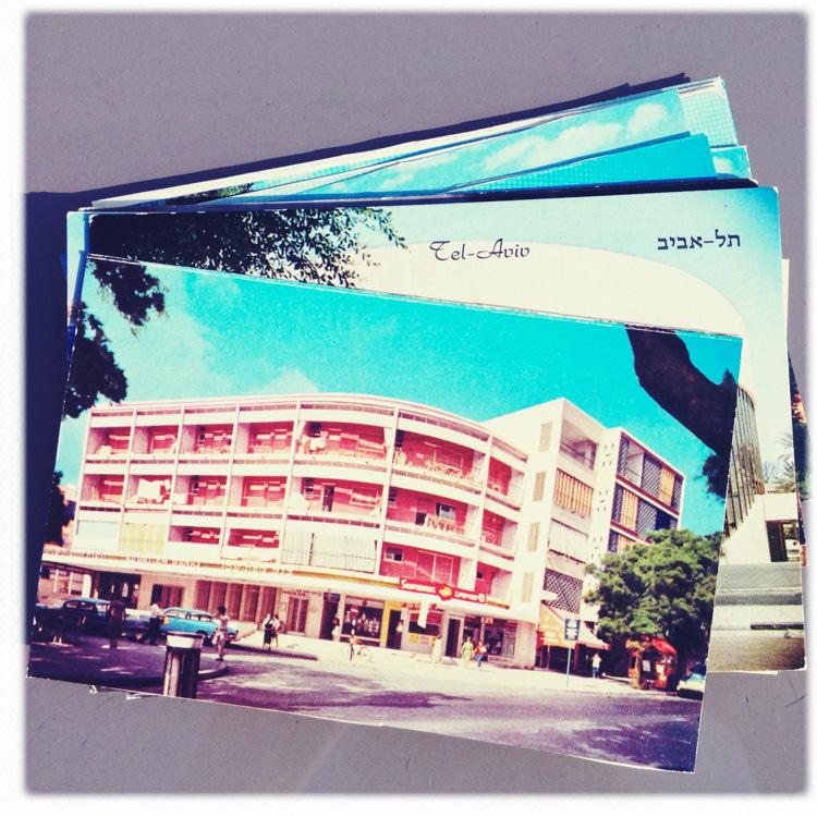 36x36x36 Postcard Project, Tel Aviv 2014