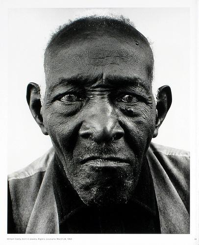 Richard Avedon William Casby, als Skalve geboren, Algiers, Louisiana, 24. März 1963 Quelle: http://www.pinterest.com/pin/471048442248312822/
