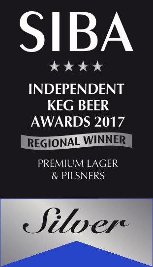 SIBA Regional 2017 Keg Premium Lager SILVER.png