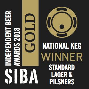 SIBA National 2018 Keg Standard Lager & Pilsners GOLD.png