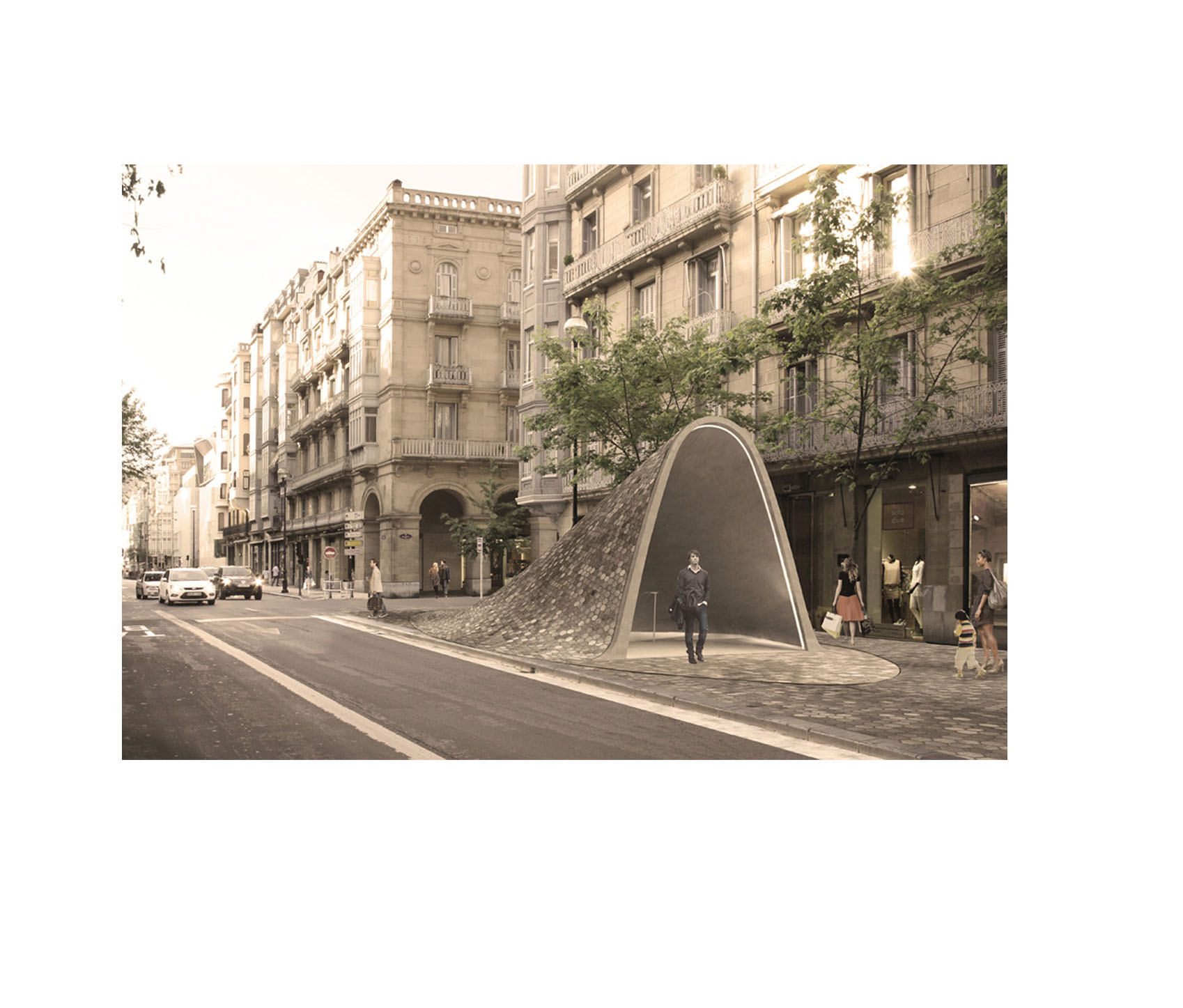 Metro Entrances in San Sebastian-Image 01.jpg
