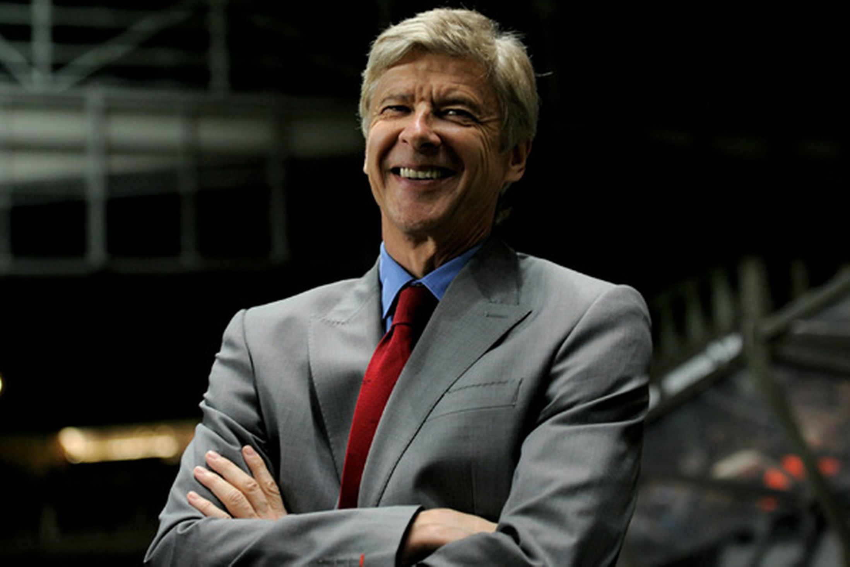Special guest Arsene Wenger
