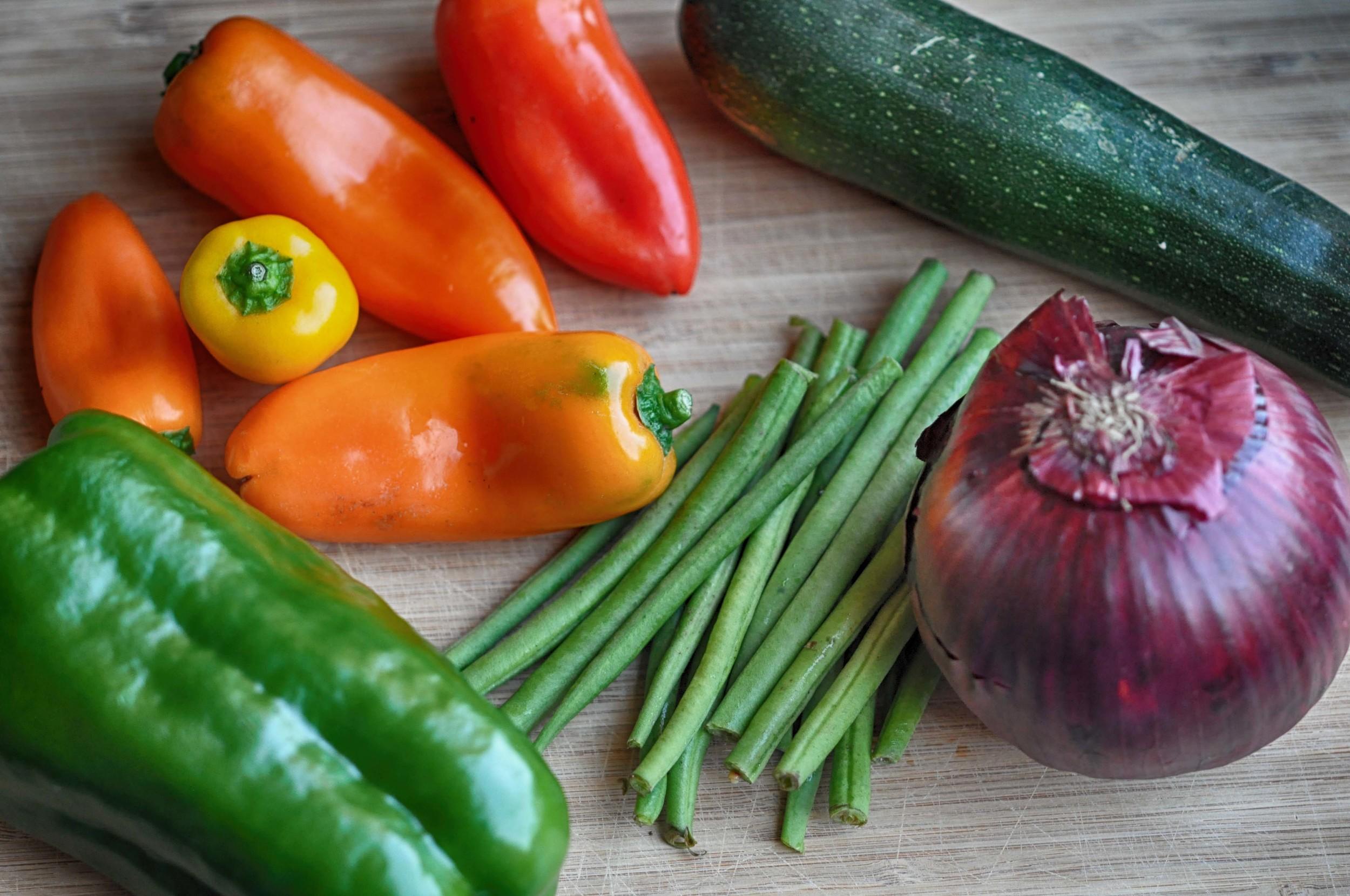 Vegetables for Tempura Mix