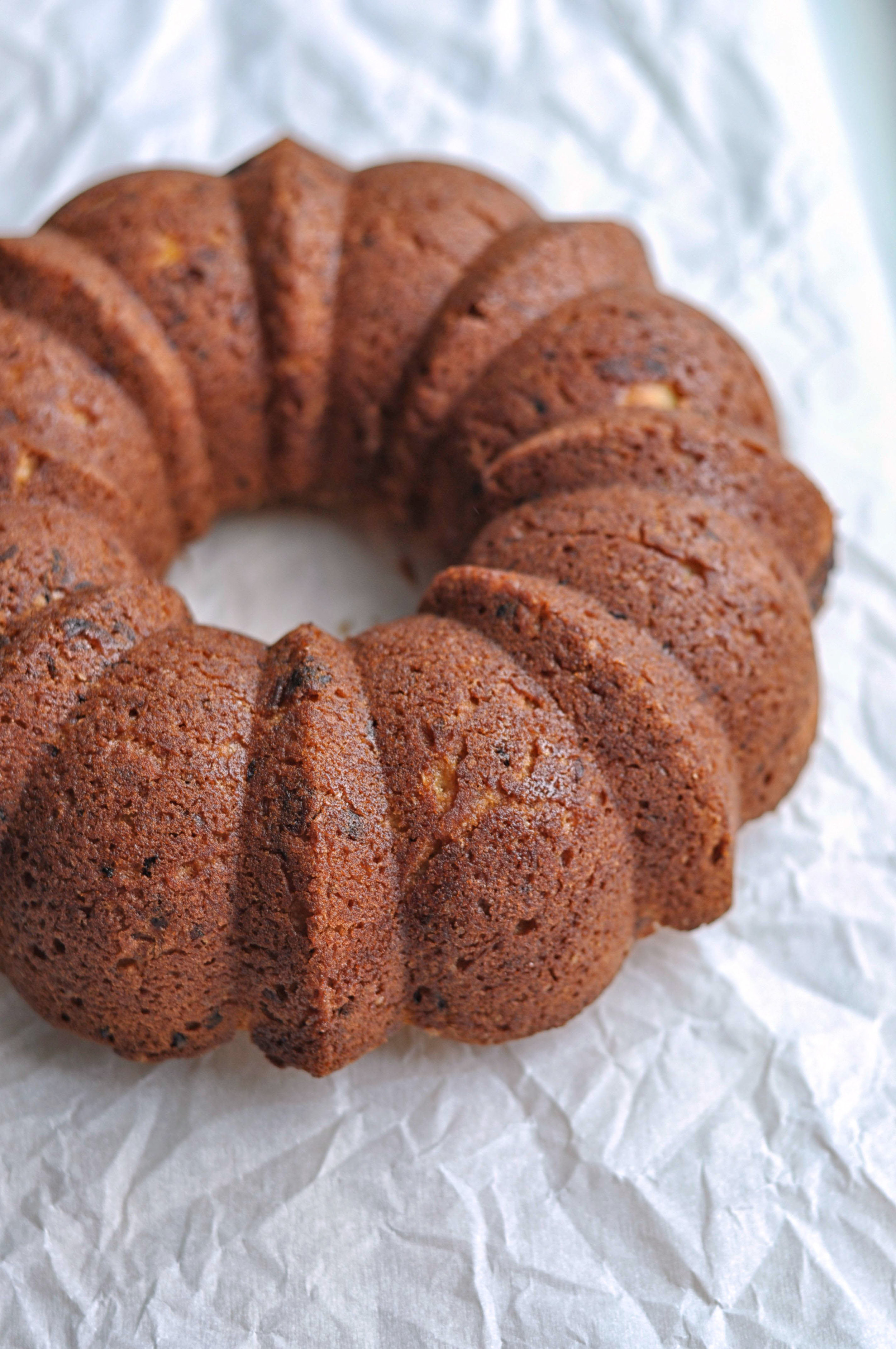 Clementine and Almond Bundt Cake from Shiny Happy Bright