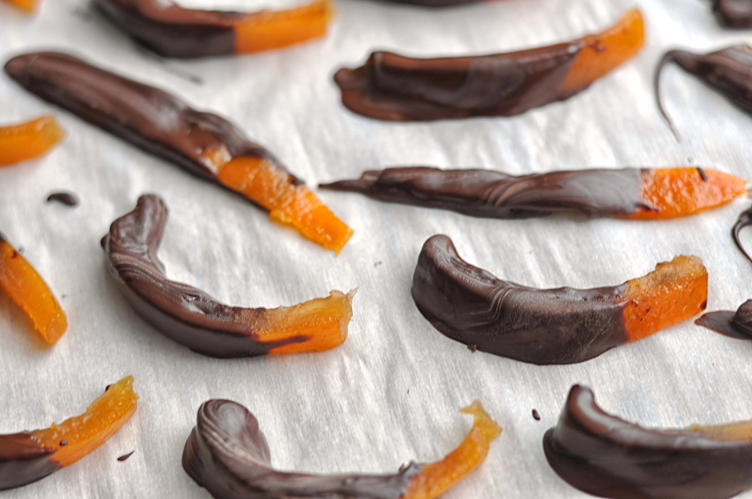Dark Chocolate Covered Clementines & Grapefruit from Shiny Happy Bright