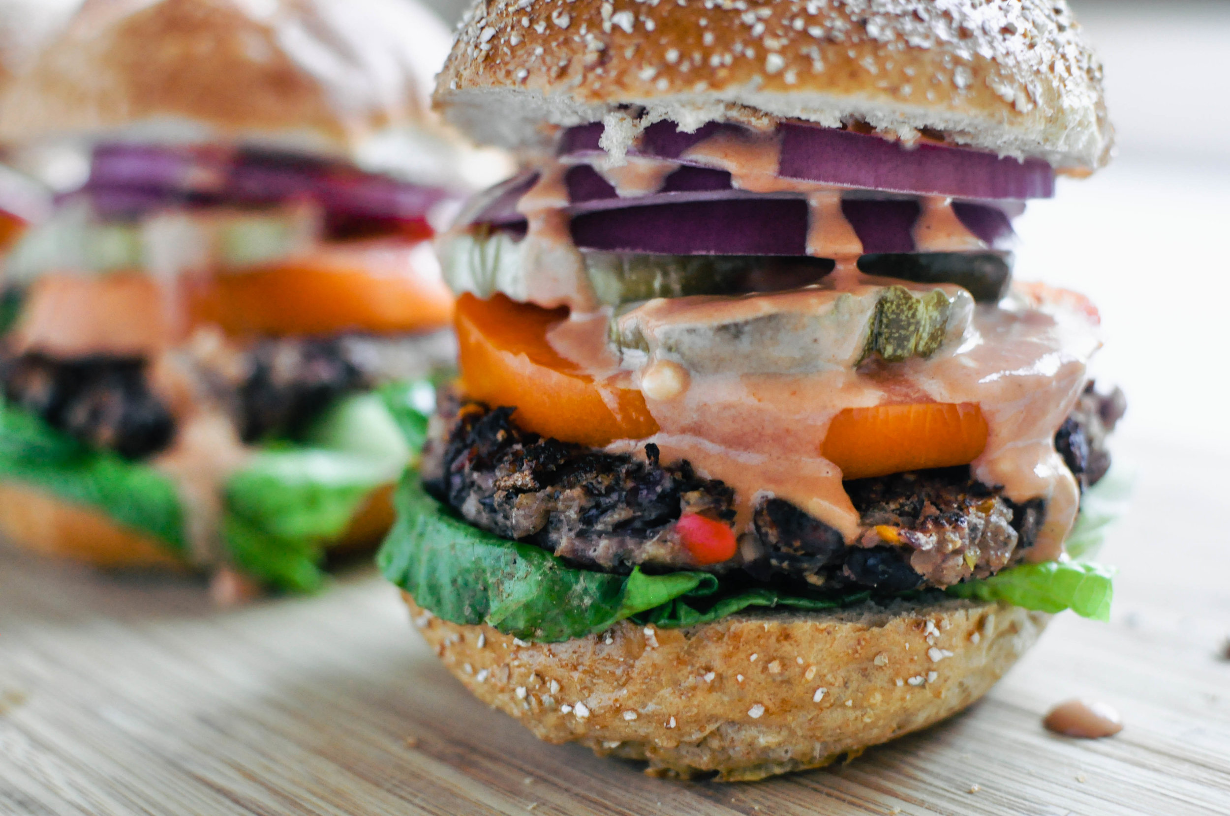 The Best Black Bean Burger | This Healthy Table