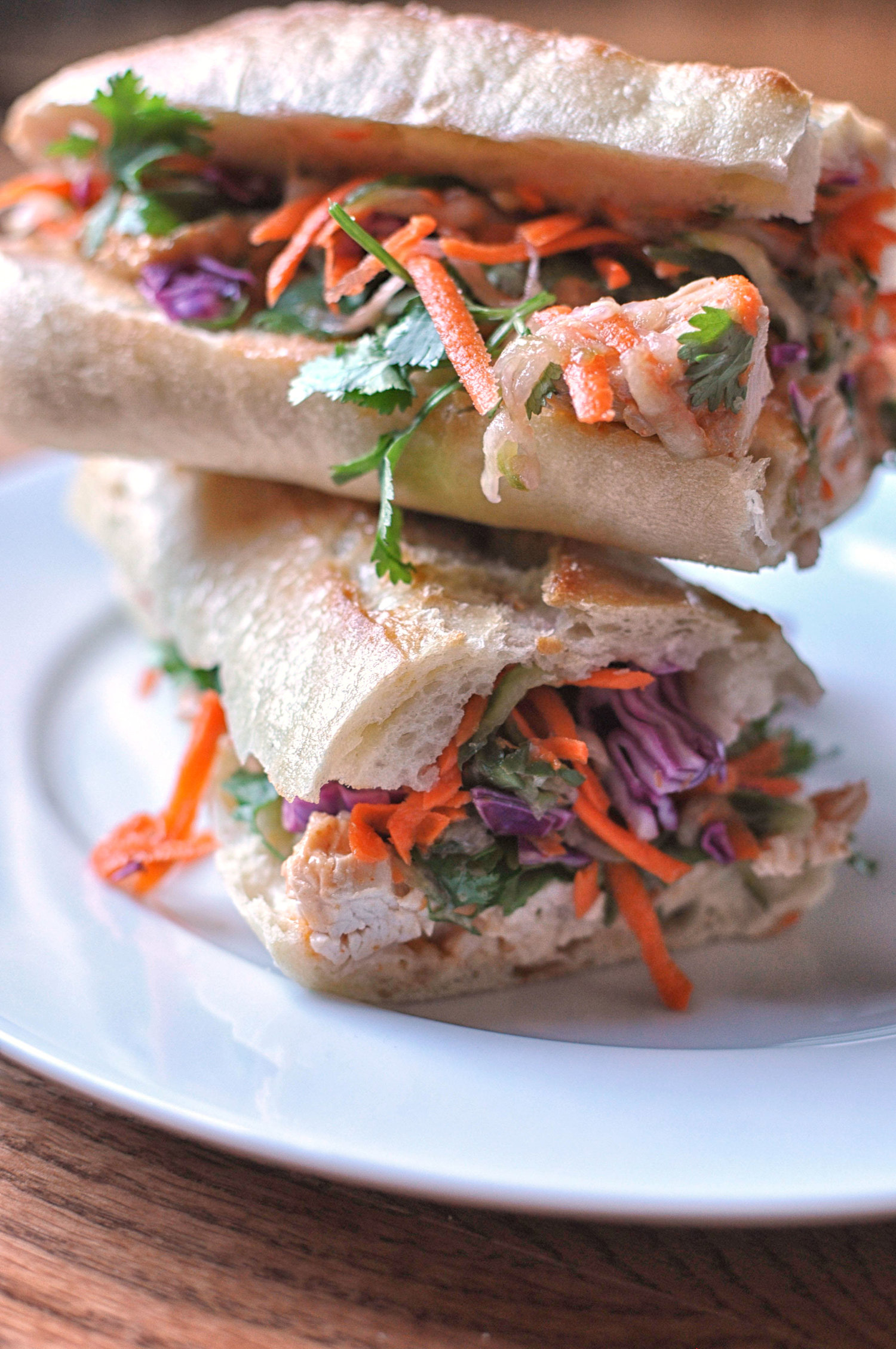 Leftover Turkey Banh Mi from This Healthy Table -