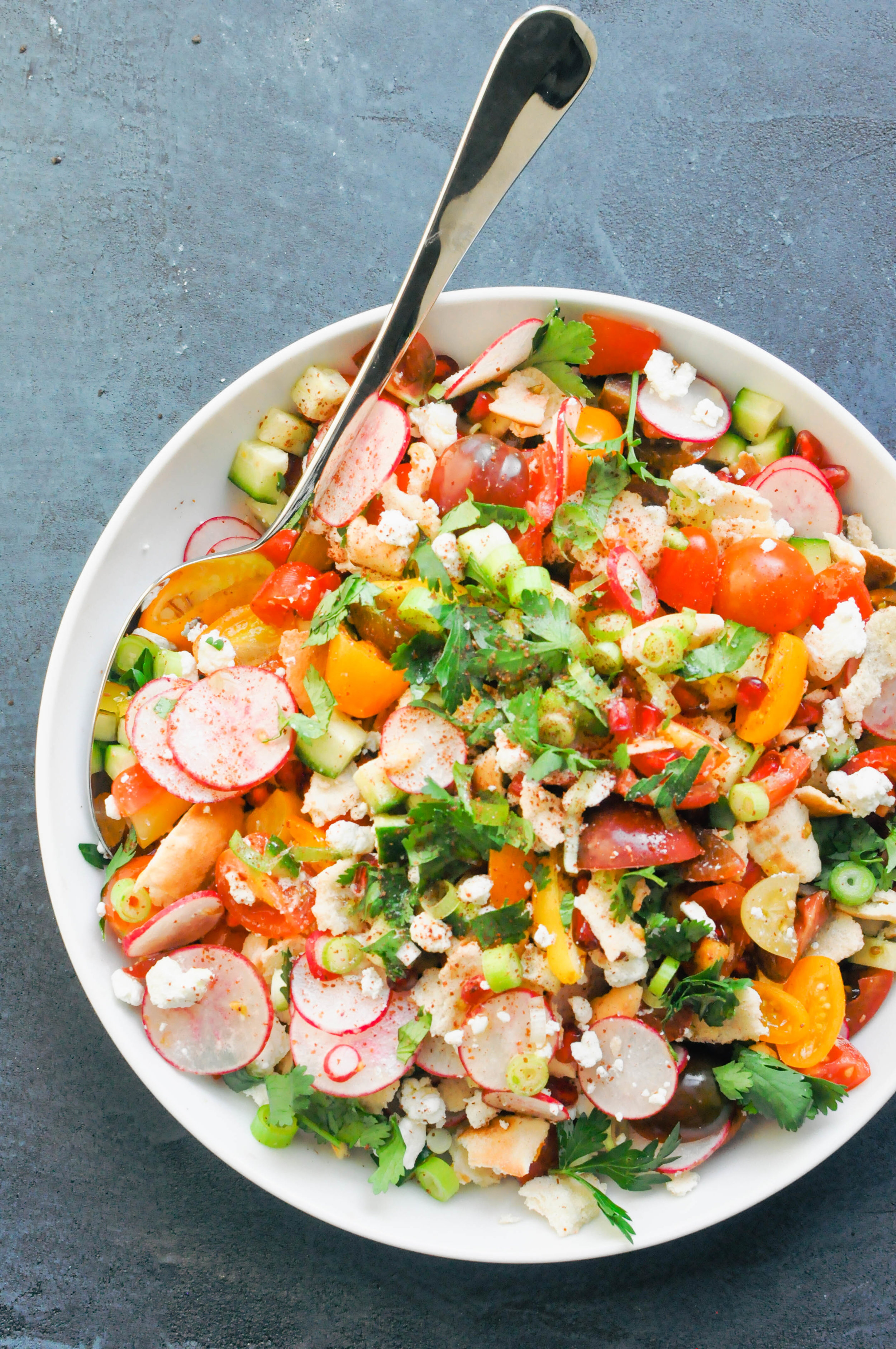 The Best Fattoush Salad Recipe   This Healthy Table