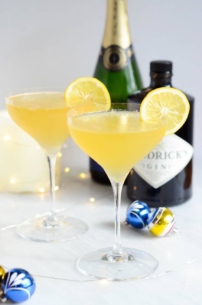 Citrus Vanilla Sparkler from Cali Girl Cooking. Get the recipe here. -
