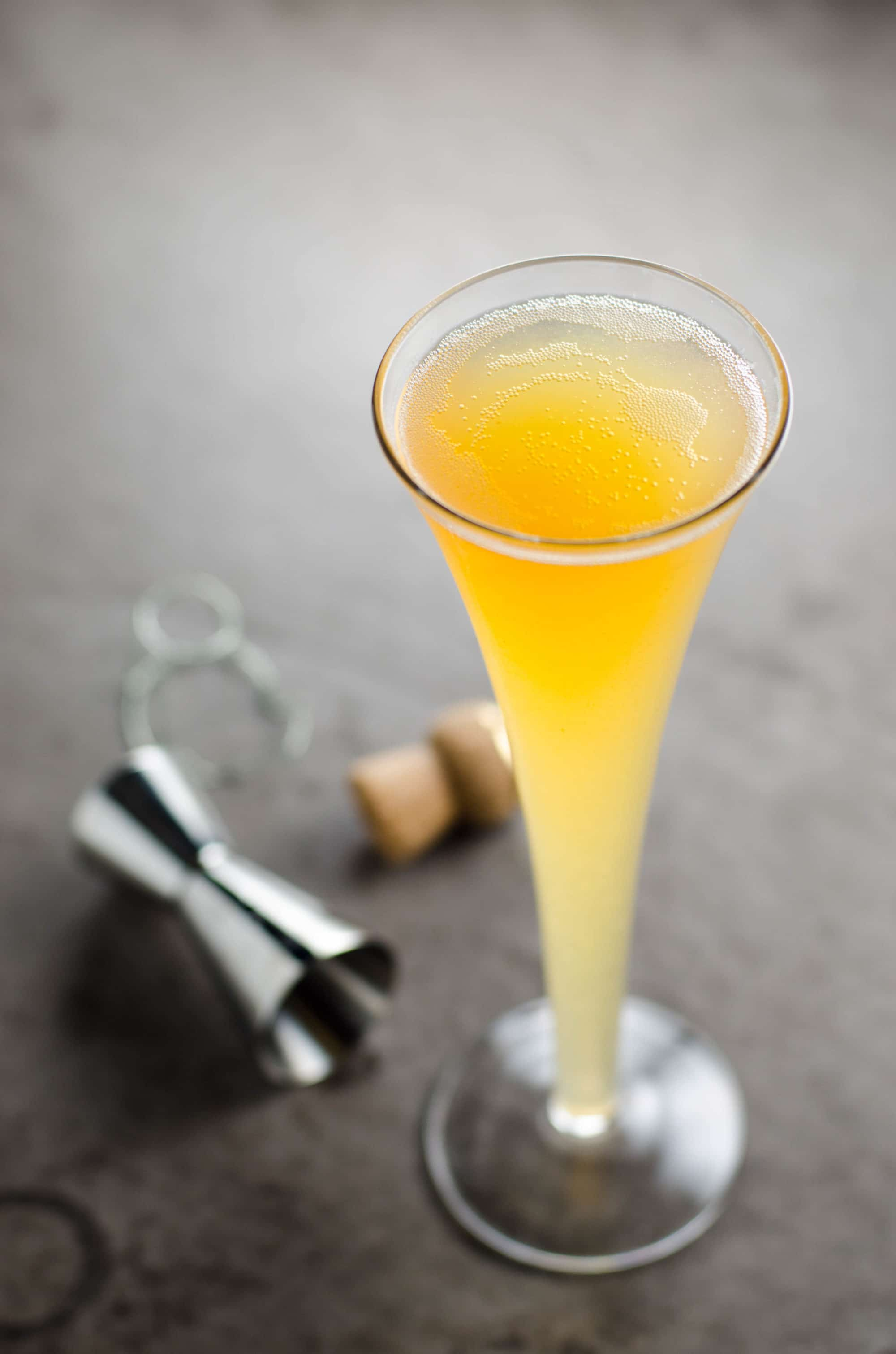 The Fifteen: A Cider, Champagne, and Whiskey Cocktail from Umami Girl. Get the recipe here. -