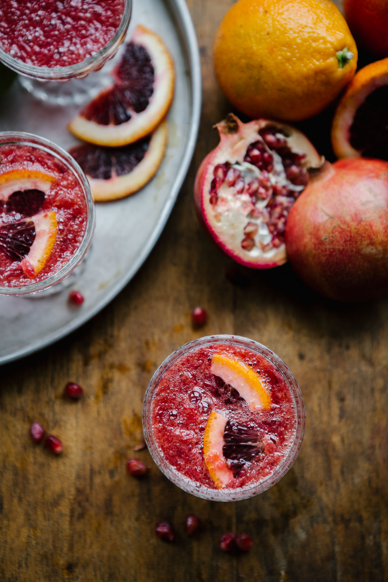 Blood Orange Mimosa from My Kitchen Love. Get the recipe here. -