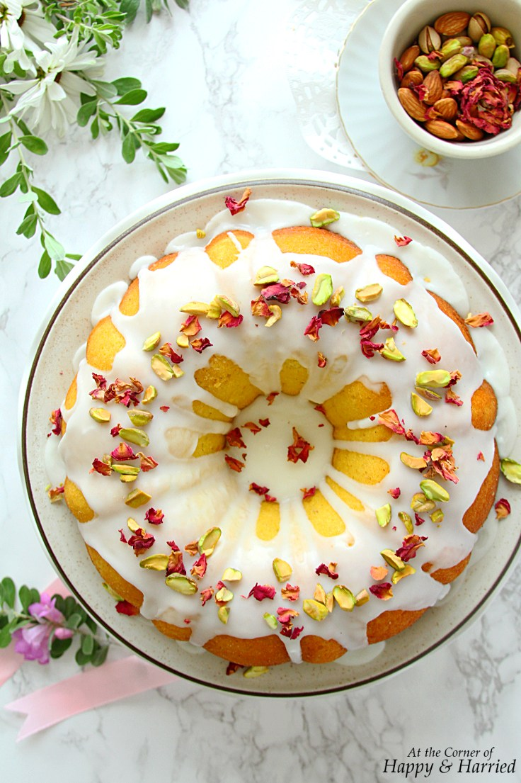 Persian Love Cake from At The Corner Of Happy And Harried