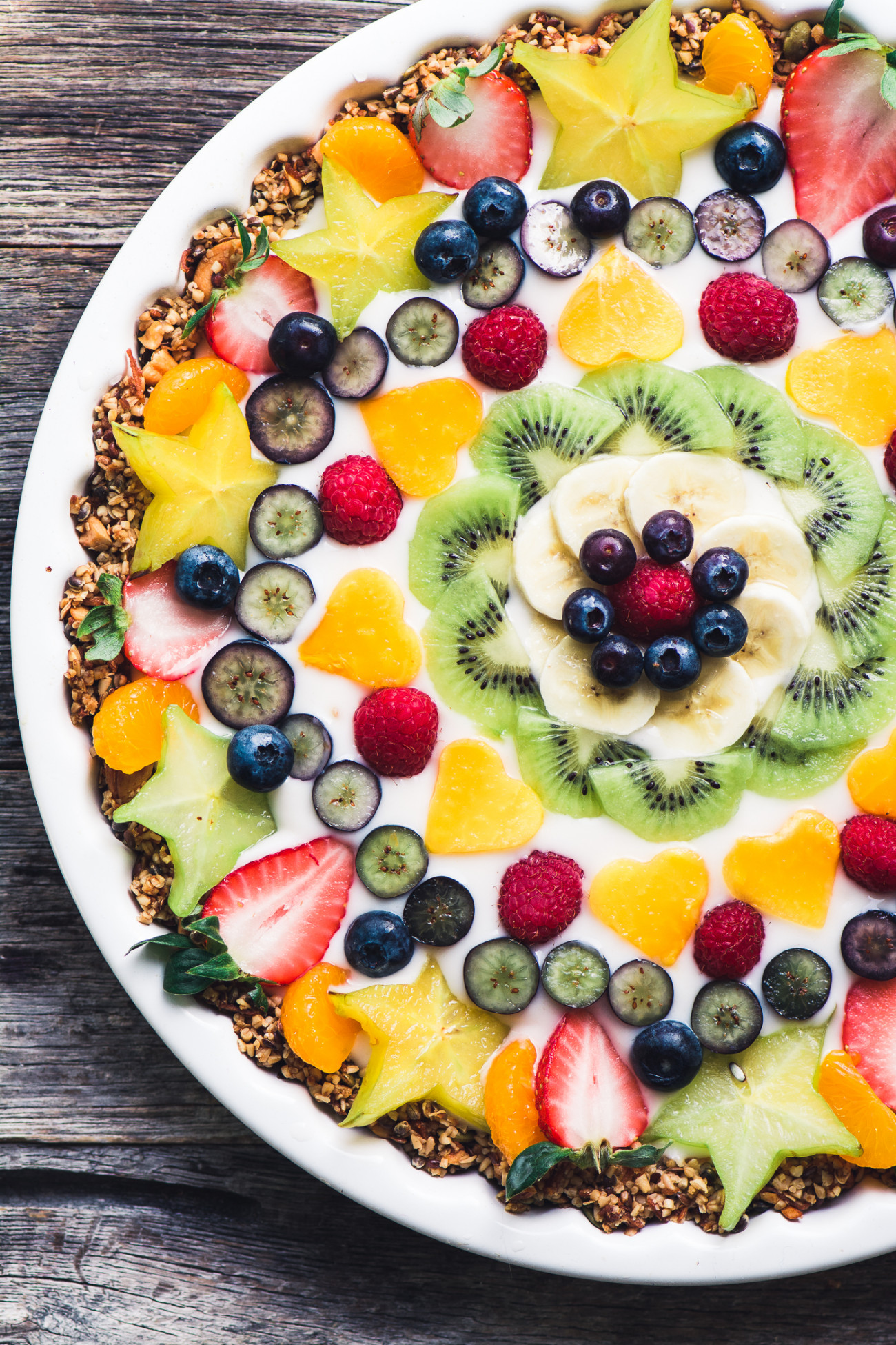 Vegan Fruit and Yogurt Breakfast Tart from The View from Great Island. Get the recipe here. -