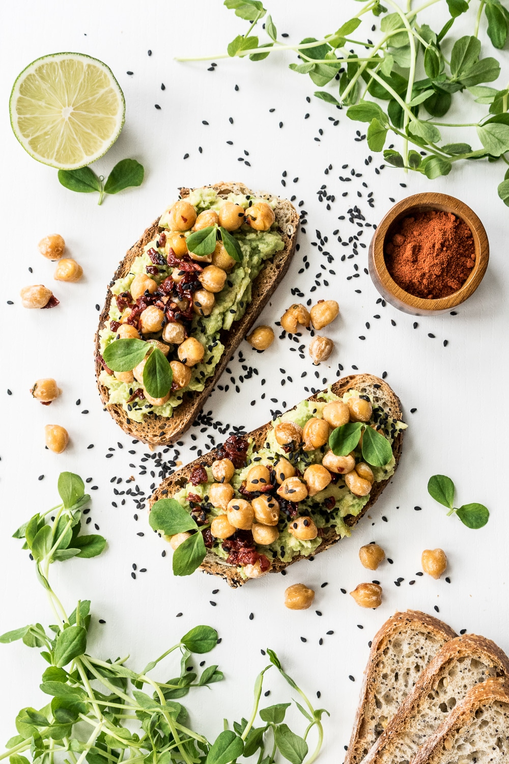 A Healthy Avocado Toast Recipe, the Vegan Way from Gathering Dreams. Get the recipe here. -