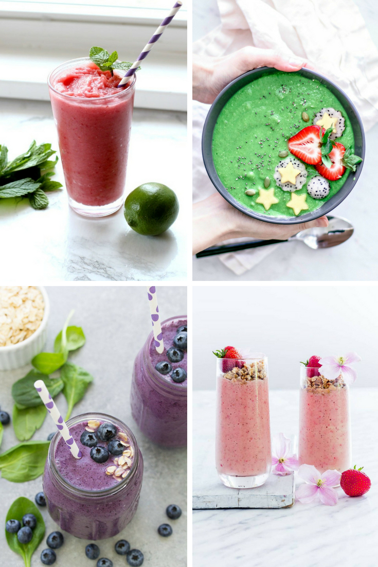 15 Easy, Healthy Fruit Smoothie Recipes You'll Love!