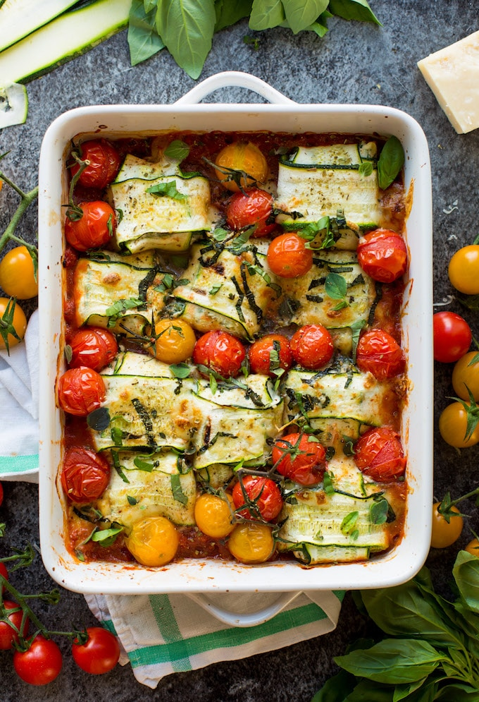 Zucchini Ravioli from A Saucy Kitchen. Get the recipe here. -