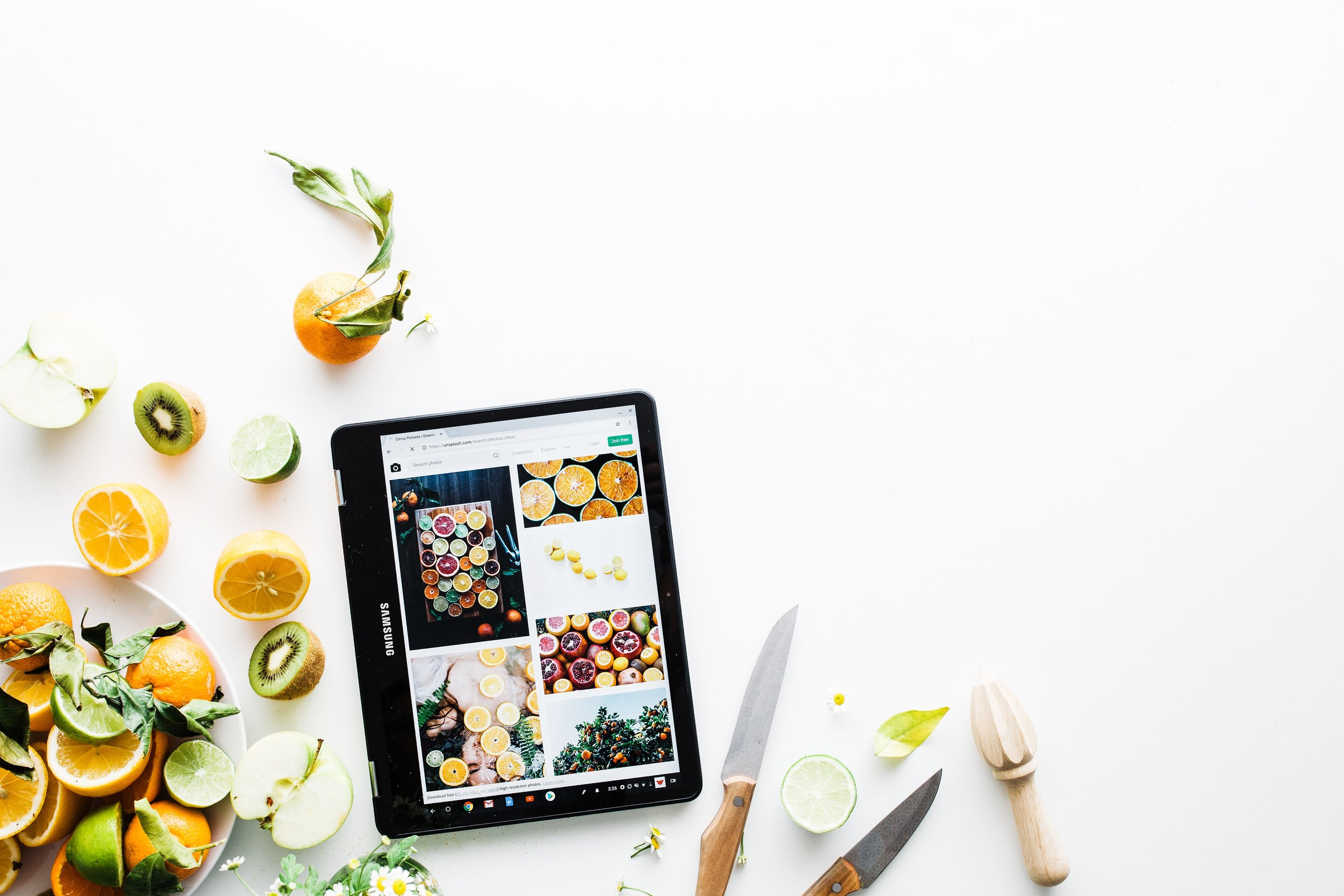 Sharing Sites for Food Bloggers