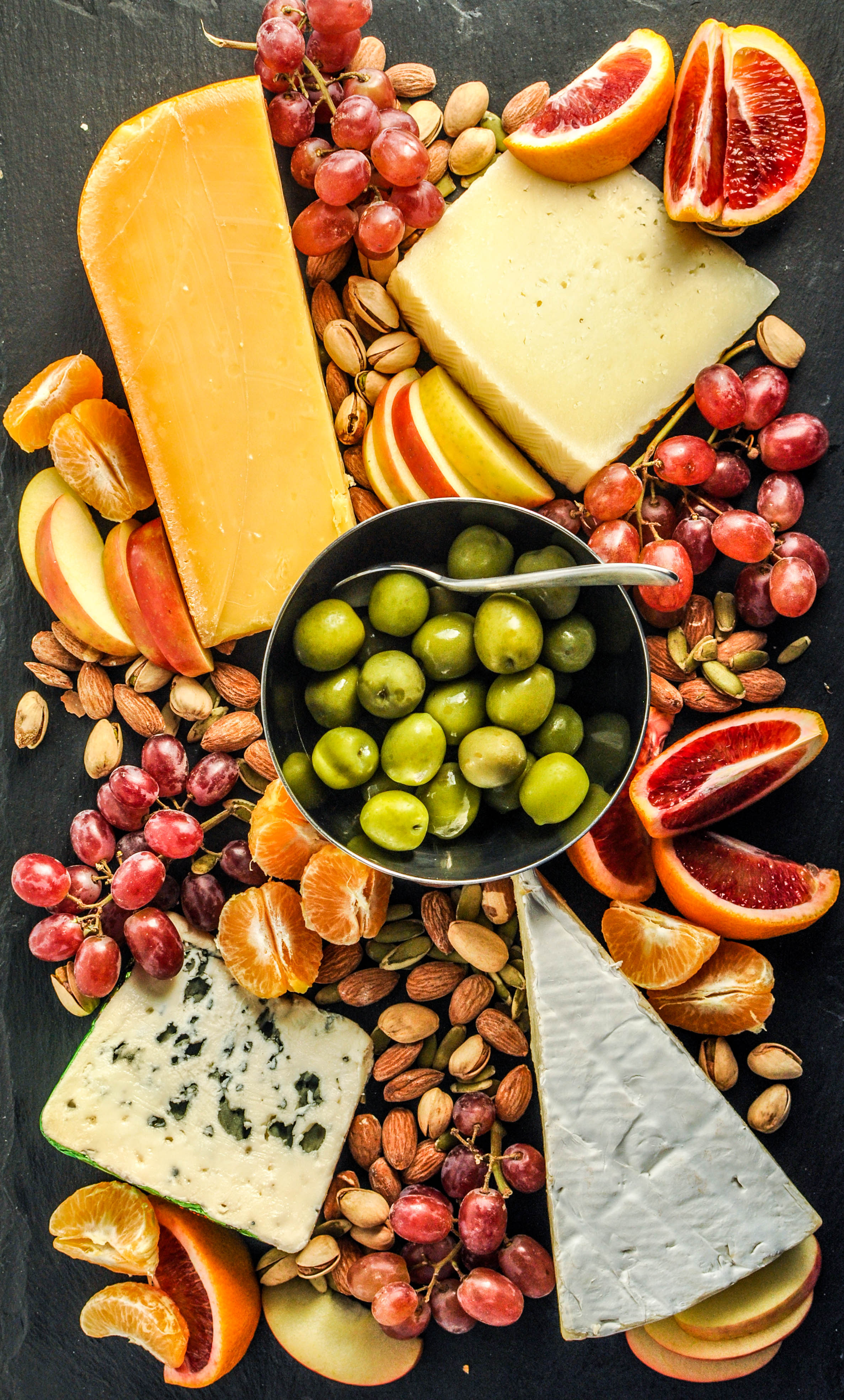 A Truly Fabulous Graze Board - Looking for a way to wow guests at a dinner party or having your own Friday night cocktails and canapés extravaganza? I humbly suggest this epic grazing board.