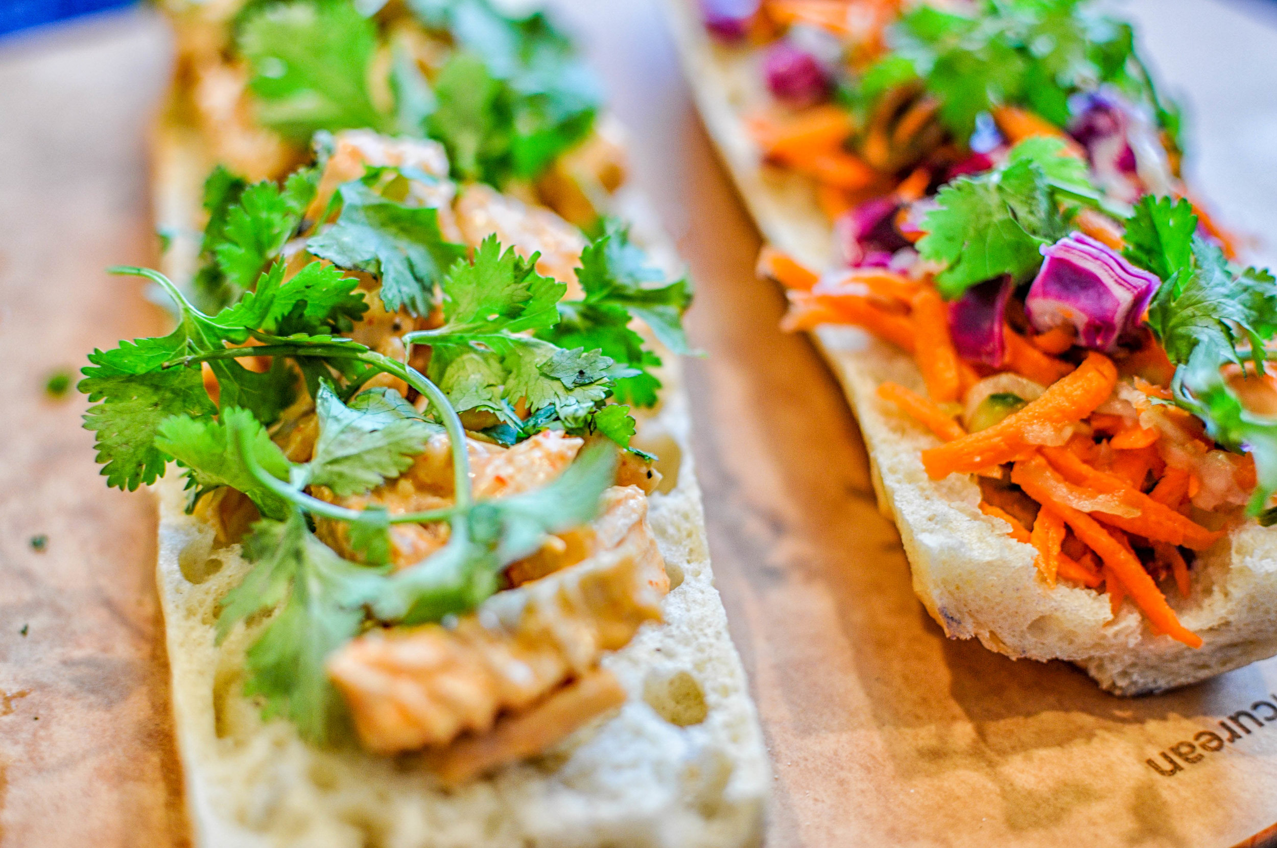 Leftover Turkey Banh Mi - with pickled veggies and a tangy mayo sauce | This Healthy Table