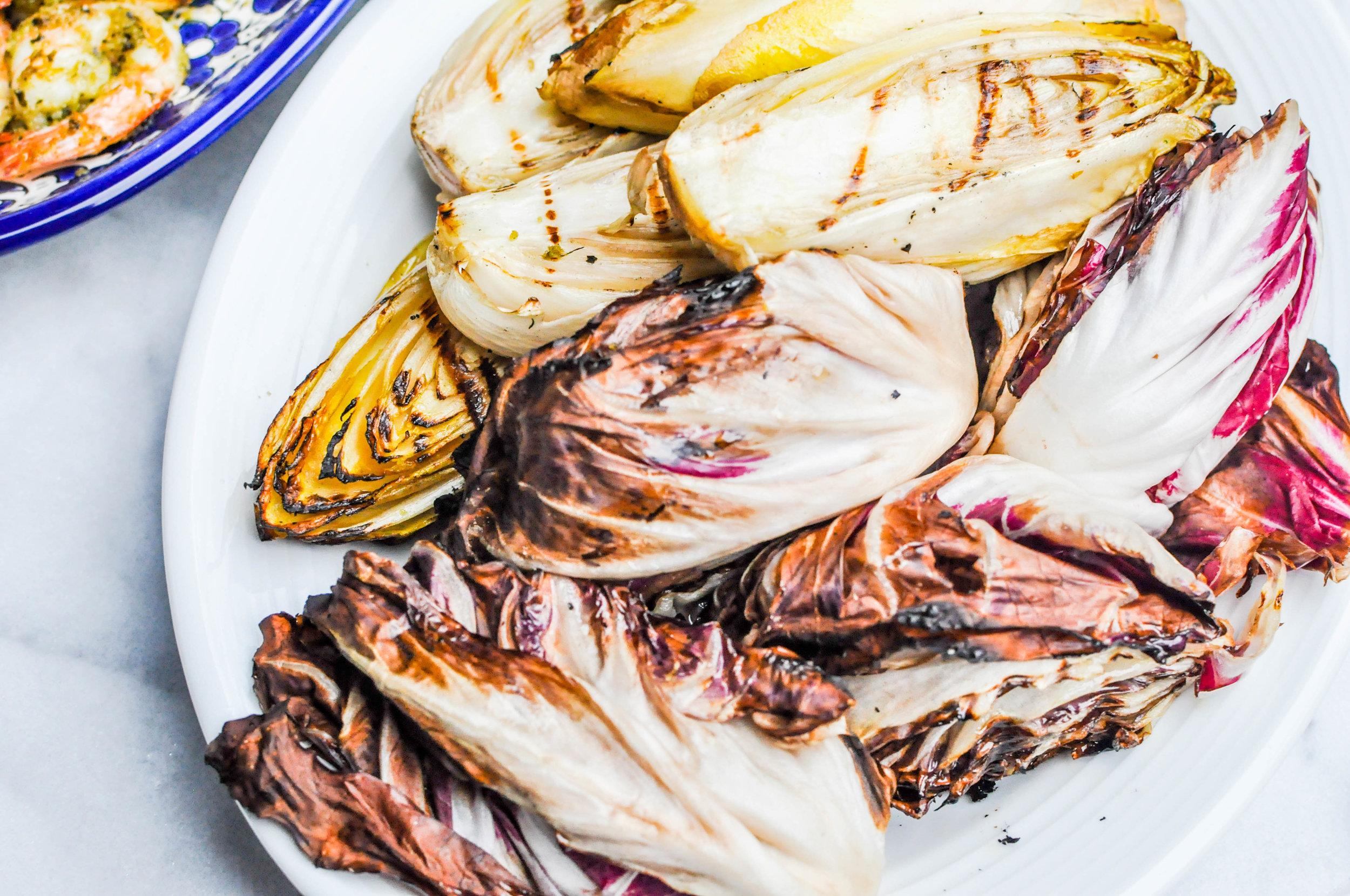 Grilled Shrimp and Endives Recipe